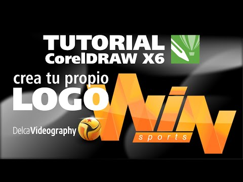 (INTERMEDIO) TUTORIAL 10 Corel Draw X6: Crea Tu Propio Logo / Design Your Own Logo