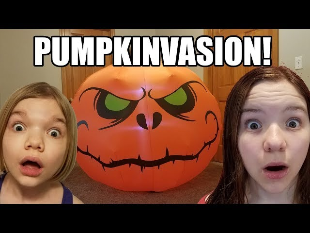 Stalked By Pumpkins! A Halloween Tale