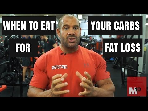When to eat your carbs for fat loss Timing strategies