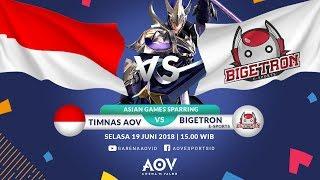 Sparring ASIAN GAMES - Timnas AOV Indonesia VS Bigetron E-Sports  - Garena AOV (Arena of Valor)