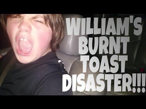 WILLIAMS BURNT TOAST DISASTER!!!