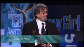 Vince Gilligan (Breaking Bad) and Henry Bromell (Homeland) win the 2012 WGA Award for Episodic Drama