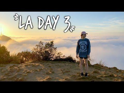 LA DAY 3! Wisdom Tree & Santa Monica