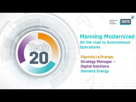 Tech20 Manning Modernized On the road to Autonomous Operations
