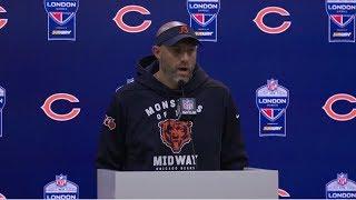 Matt Nagy PostGame Reaction: Bears loss to Raiders 24-21; Chase Daniel: 22-30, 231 Yds, 2 TD