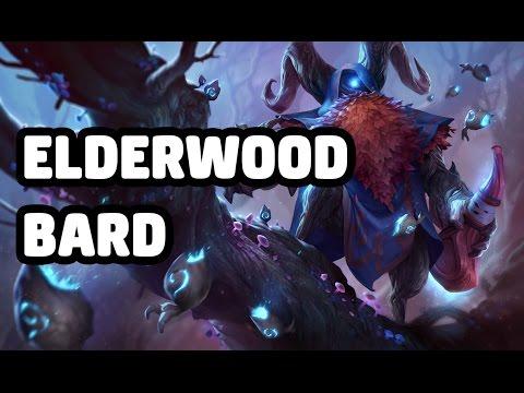 ELDERWOOD BARD SKIN SPOTLIGHT - LEAGUE OF LEGENDS