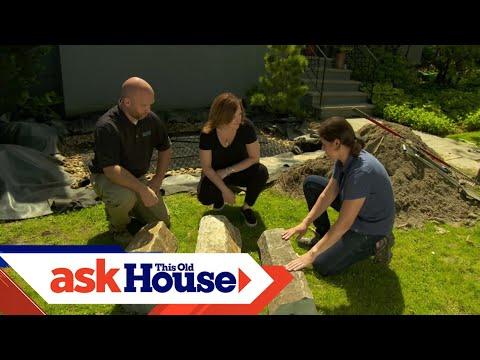 How to Install a Water Feature that Reuses Rainwater