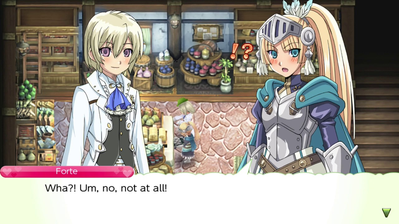 Fortes Sincerity General Store Date - Rune Factory 4