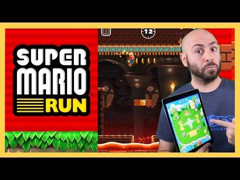 Super Mario Run - Gameplay First Impressions!