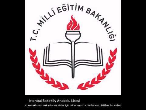 Istanbul Bakırköy Anadolu Lisesi üniversite Hayatı Youtube