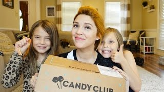 trying candy club with kennedy shelby