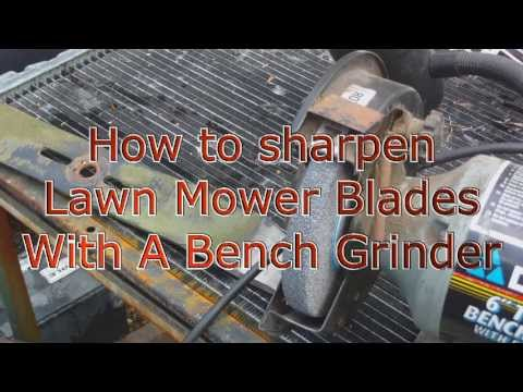 How To Sharpen A Lawn Mower Blade Doovi
