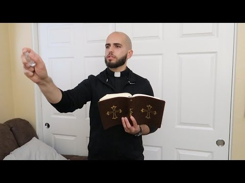 PRIEST GETS RID OF EVIL SPIRITS IN OUR HOME..   FaZe Rug