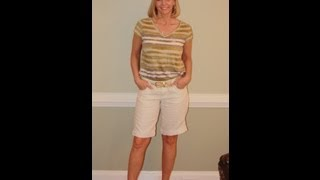 Alter length of pants and shorts easy sewing alterations