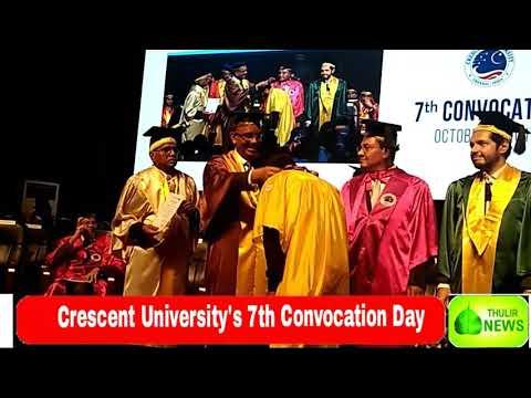 B.S. Abdur Rahman Crescent University Convocation Day