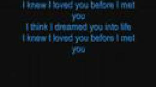 Savage Garden Karaoke (i knew i loved you)