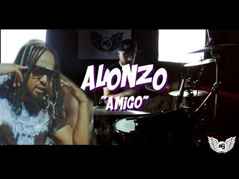 Alonzo - Amigo Ft.DJ Spike Miller - Drum Remix ( The Jungle Drummer)