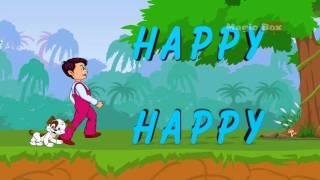 Ich Bin Glücklich - English Nursery Rhymes - Cartoon/Animated Rhymes For Kids