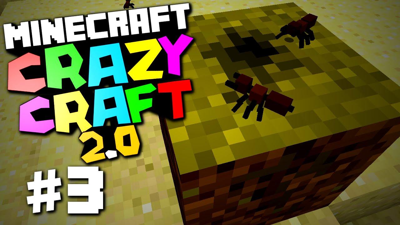 Minecraft    Crazy Craft Mod