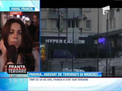 Franţa, sub teroare! Luare de ostatici într-un magazin de bijuterii din Montpellier