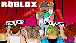 NEVER GOING TO ROBLOX COMEDY CLUB AGAIN...
