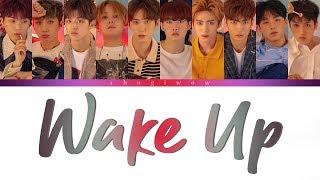 PENTAGON (ペンタゴン / 펜타곤) - 悪夢 Wake Up (Nightmare) (Color Coded Lyrics Kan|Rom|Eng)