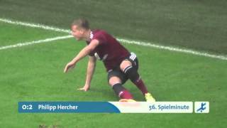 SpVgg Greuther Fürth II - 1. FC Nürnberg II  (Regionalliga Bayern 15/16, 13. Spieltag)