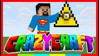 Süpermen İlluminatiyi Buldu ! - Modlu Survival - Crazy Craft #9