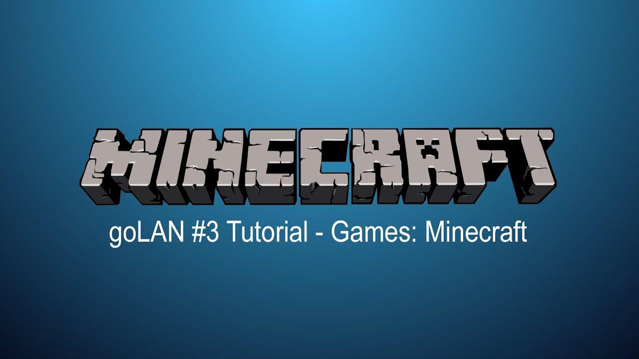 Tutorial Eigene LANParty Machen Games Minecraft YouTube - Minecraft spielen fur anfanger