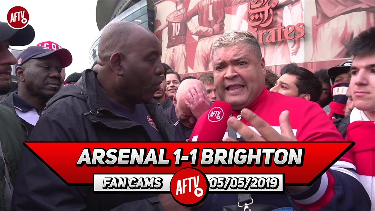 arsenal 1 1 brighton our season is not over heavy d youtube arsenal 1 1 brighton our season is not over heavy d