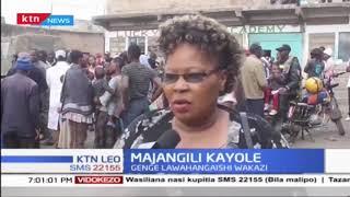 Genge limeibuka mtaani Kayole na kuwahangaisha wakazi