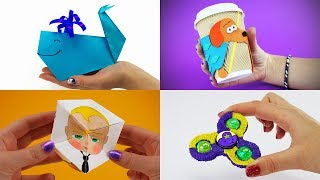 5 Amazing Things You Can Do at Home | DIY For Kids with Boss Baby, My Little Pony, Dipper and other