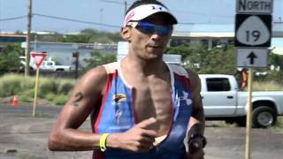 Sport Science host John Brenkus competes in the IronMan triathlon. ...