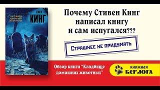Обзор книги Кладбище домашних животных. Кинг. Почему Стивен Кинг написал книгу и сам испугался?