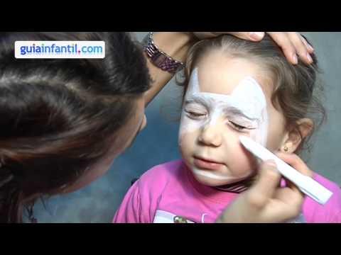 Maquillage Halloween Hello Kitty.Maquillage Des Enfants Hello Kitty