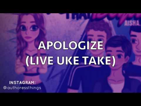 Apologize - Aisha Ayesha (Live Uke Take) Official Lyrics Video
