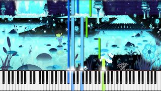 Undertale // Quiet Water | LyricWulf Piano Tutorial on Synthesia // OST 33