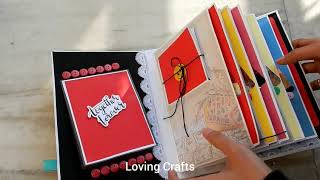 Love Scrapbook for couple by Loving Crafts