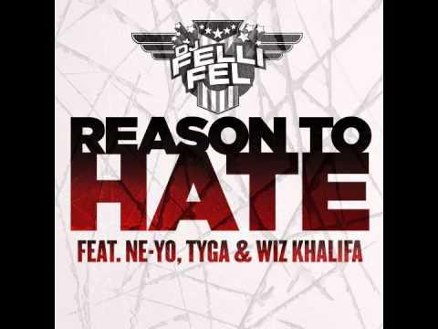 DJ Felli Fel feat. Ne-yo, Tyga & Wiz Khalifa - Reason To Hate [Instrumental] OFFICIAL