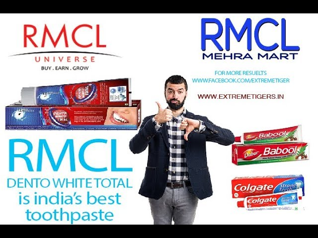 Rmcl dento  toothpaste is the best pest for indians v9dmehrafx - 9509012611 MehraRmclMart.com