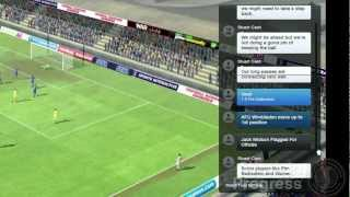 Football Manager 2013 Video Blogs: Match Day (English version)