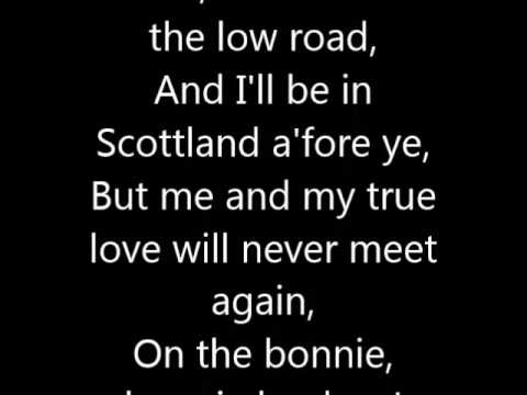Loch Lomond Irish Country C For Vocal