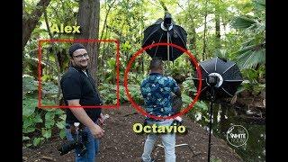 Entrevista a Octavio, desde la Cienega parque hermoso en Ayotlán, Jalisco, Mexico