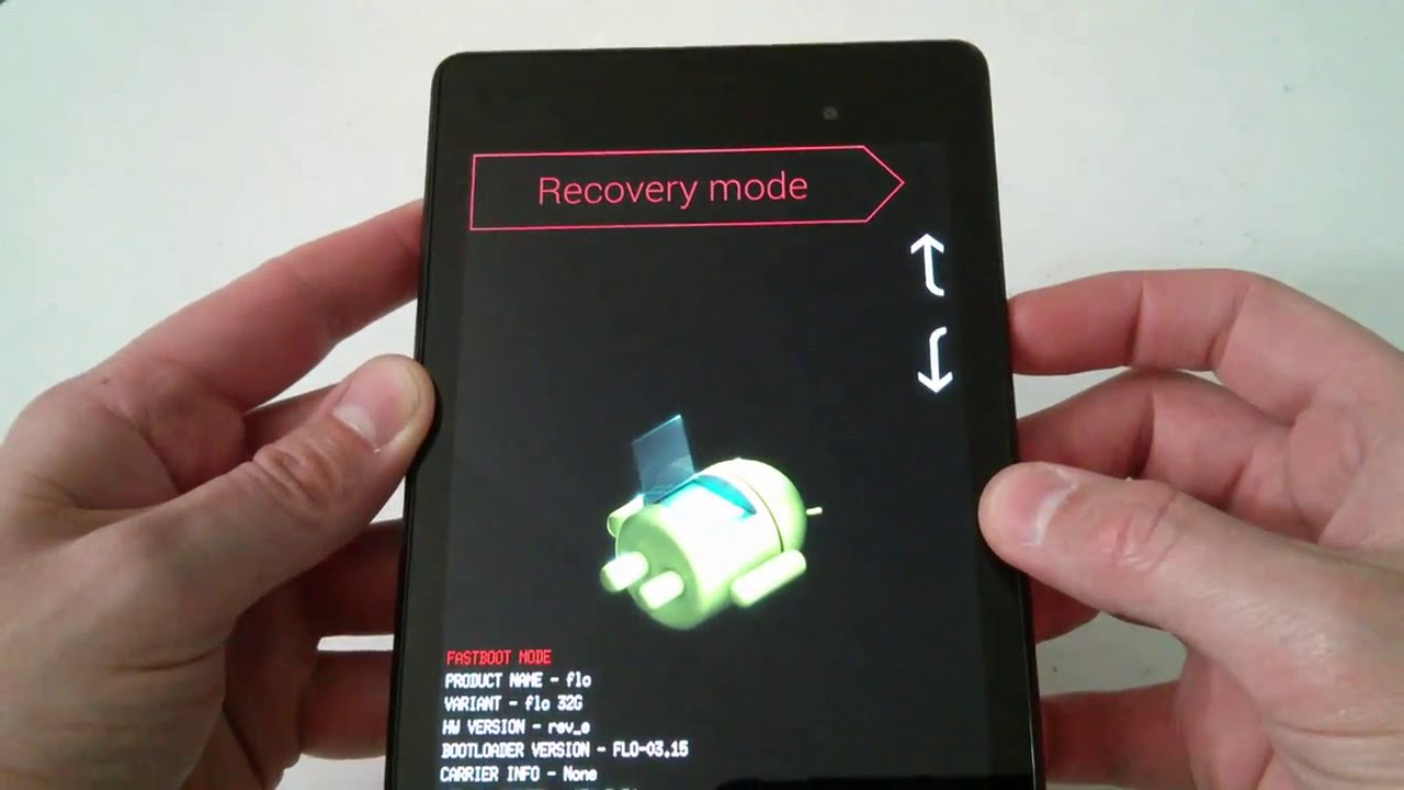 Android : Mode Fastboot et Recovery - Aidewindows net