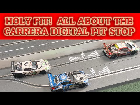 Carrera Digital Slot Car Pit Stop –Setup, Features, Functions, and Operation