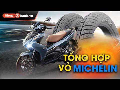 Tổng hợp vỏ xe Michelin chính hãng cho Air Blade 2021