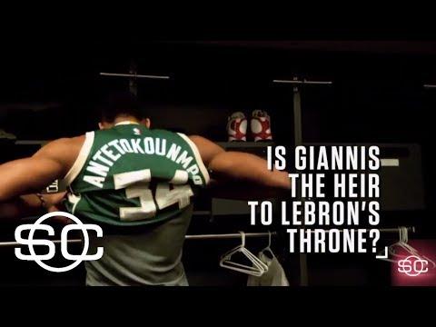 Is the Greek Freak next in line for LeBron's throne? | SportsCenter | ESPN