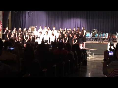 Tenafly Middle School 8th grade concert 2017