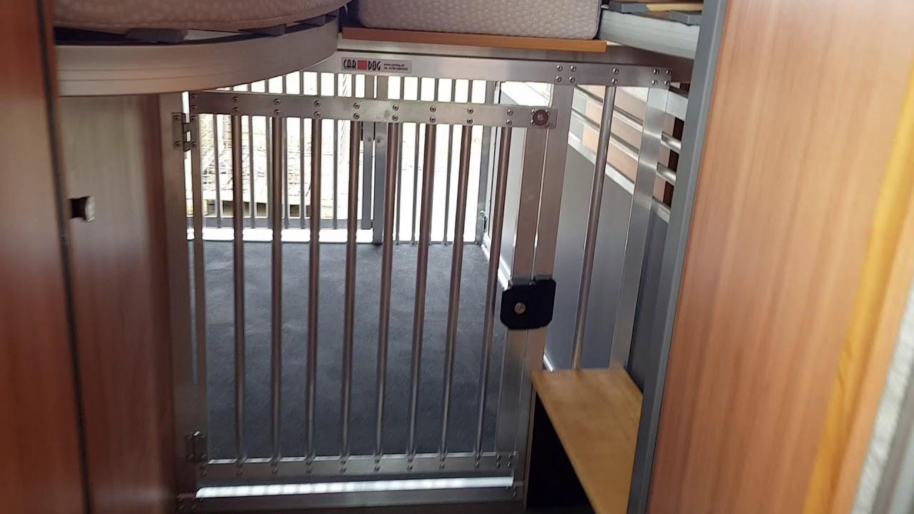 hundebox im wohnmobil p ssl summit 640 youtube. Black Bedroom Furniture Sets. Home Design Ideas