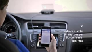 Telekom: Garmin Head-Up Display (HUD) - Die Navigation von morgen